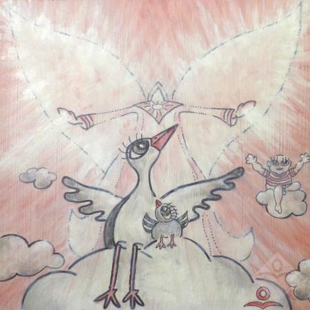 A Kicsi Veréb a Kicsi gólya a Kicsi Angyalka és a Csundi