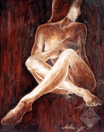 Capuccino lány-Sattien